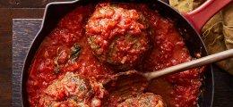 Albóndigas en salsa de verduras